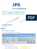 Philips Cleanroom - LED Hygiene