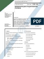 NBR 11432 CB 126 - Equipamento Para via Permanente Ferroviaria