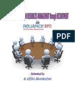 Strategic Human Resources Management through Recruitment