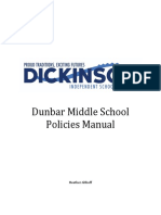 dunbar policy manual