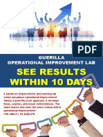 Geurilla Operational Improvement