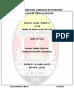 Enfermedades Diarreicas Agudas en Honduras