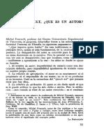 Que es un autor-M. Foucault.pdf