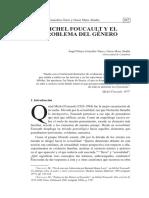Pelayo Angel - Michel Foucault Y El Problema De Genero.pdf