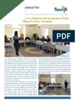 Syunik NGO Newsletter Issue 30