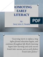 Promoting Early Literacy