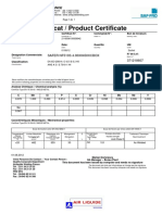 CertificateSAFERNF510S Diam4,0 (371218607)