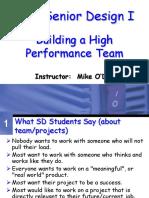 CSE4316 Building a Team