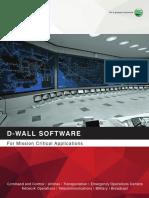 D Wall Software Brochure
