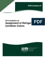 AHRI_Guide Refrige Colour