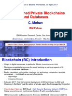 Blockchain Mohan Presentation to IBMers 19 April 2017 4-2017