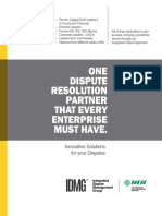 Integrated Dispute Management Group - FICM-MCN-Brochure