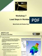 WS07 Load Steps in Workbench 90