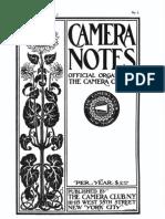 Camera Notes