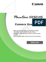 Powershot Sx50 Hs User Guide
