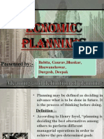 Economic Planning Babita