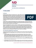 USAID Land Tenure Thailand Profile