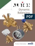 Dynamic Balancing Product Information