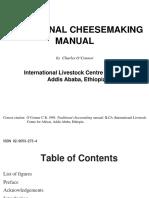 Traditional Cheesemaking Manual