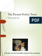 The Present Perfect Tense (1)