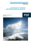 DNV GL Handbook Maritime Offshore Battery Systems