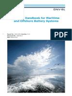 DNV GL Handbook Maritime Offshore Battery Systems