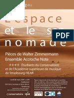 Programme Du Concert L'espace Et Le Son Nomade