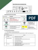 KenTec Operation Manual