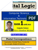 Digital Logic GATE Computer Science Postal Study Material