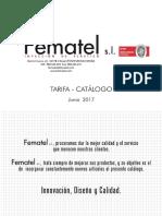 201706 Fematel Catalogo Tarifa 2017