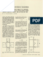 Shear in Steel Beam-To-Column Connections (1971)