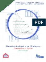 Guide Du Coffrage Et de l Etaiement Conception Et Calcul Janvier 2006 Lt