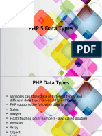6. PHP 5 Data Types