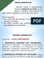 1. Sistemul Respirator