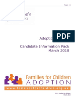 Families for Children - CEO Pack
