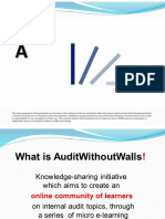 Auditwithoutwalls