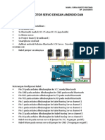 Mengontrol Motor Servo Dengan Android Dan Arduino Ririn