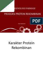 Produksi Protein Rekombinan