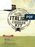 MM Italian Cheese Kit Booklet