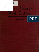 Carr - Open Hearth Steel Castings - 1907