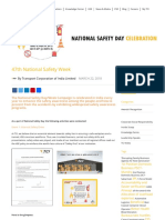 47th National Safety Week