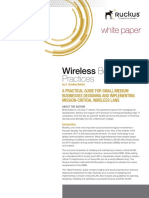 Wp Wireless Best Practices