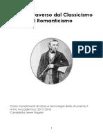 Il Flauto Traverso Dal Classicismo Al Romanticismo