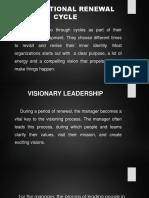 Organizational Renewal Cycle