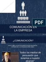 Comunicación en La Empresa