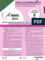 Caderno Enem2013 Dom Rosa