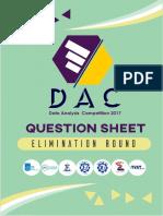 Soal DAC 2017 (Penyisihan)