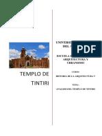 Templo de Tintiru