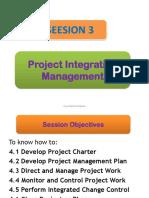 3. Project Integration Management