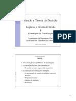 LGS Estratégias de Localização 05 06